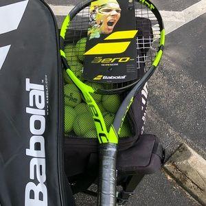 Tennis racquet 25 in junior
